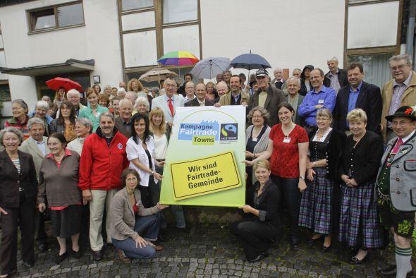 Auszeichnung Fairtrade-Gemeinde Herrsching